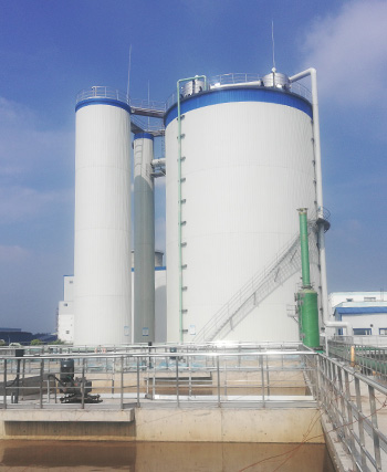 Starch wastewater treatment